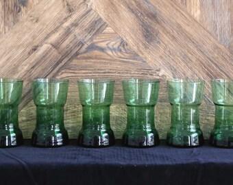 Unique Retro Green glasses