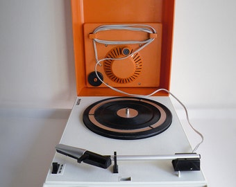 "Philips portable record player 22GF113 ""PlaySound""- Vintage"