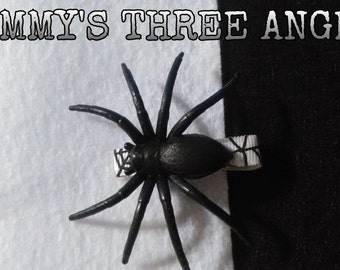 MADE TO ORDER Spider Hair Clips-Set of 2