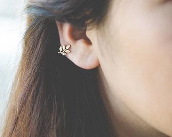 Tree Branch Ear Cuff