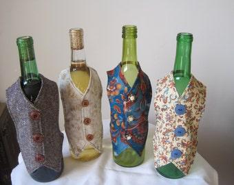 Wine bottle decorations, Wine bottle sleeves, Wine bottle decor, Bar decor, Bar accessories, Wine accessories, Home Decor, Hostess gift