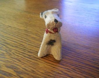 Vintage Airedale Terrier figurine