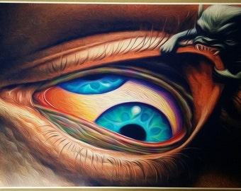 "Tool Band Third Eye GIANT SIZE 40"" x 24"" Aenima Poster Digital Art Maynard Art"