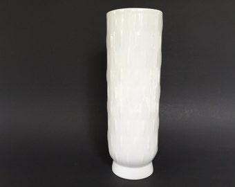 Schumann Arzberg Bavaria 1960s Op Art  porcelain vase 0210   Mid Century Modern West Germany.
