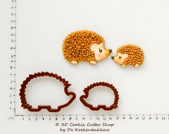 Mother & Baby Hedgehog Cookie Cutter Set