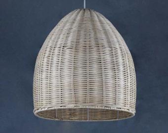 Free Shipping Mother 's Back Basket Lighting-Hand Woven From Rattan Pendant Lamp-Decor Lighting-Pendant Lighting-Ceiling Lamp-Rural Lighting