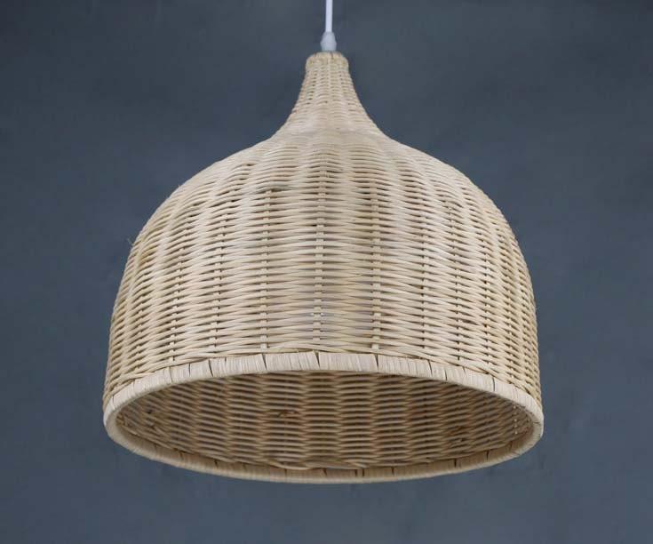 Hand Woven Rattan Body Basket Pendant LightsHome Living