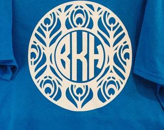 Aztec Monogrammed T-Shirt
