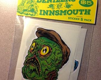 Denizens of Innsmouth Sticker 5 Pack
