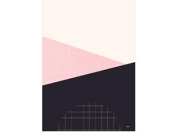Fragment. #3 from Grid Trio. Print on foam pvc board, A2 (594 x 420mm), unframed.