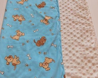 Pet/Dog Minky Blanket/ Small/Ready to Ship