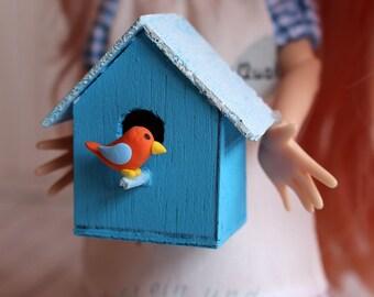 Bird House - Bird house miniature