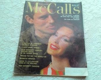 Vintage July 1960 McCall's Magazine