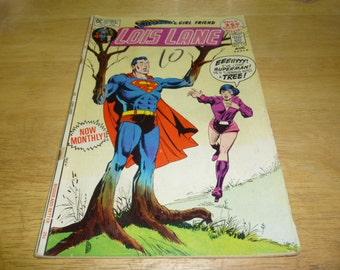 Lois Lane #112 issue DC comic book 1971 superman