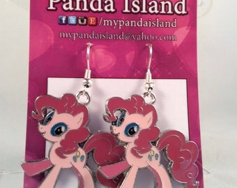 My Little Pony Pinkie Pie earrings