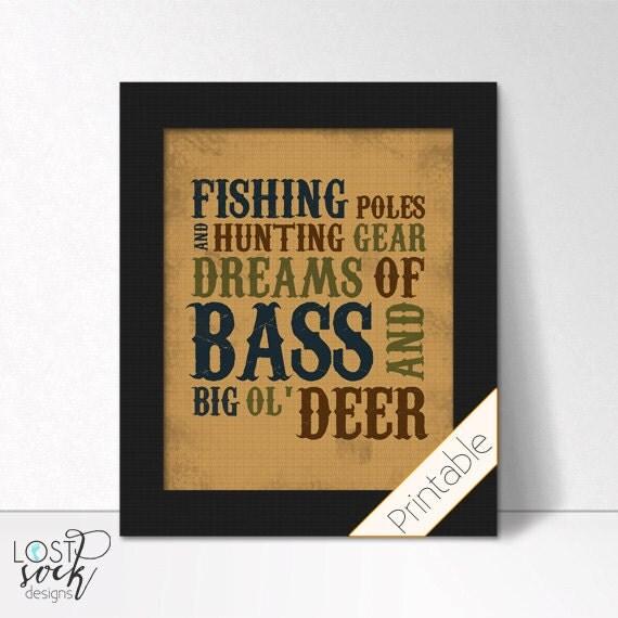 Items Similar To PRINTABLE: Fishing Theme Fishing Poles