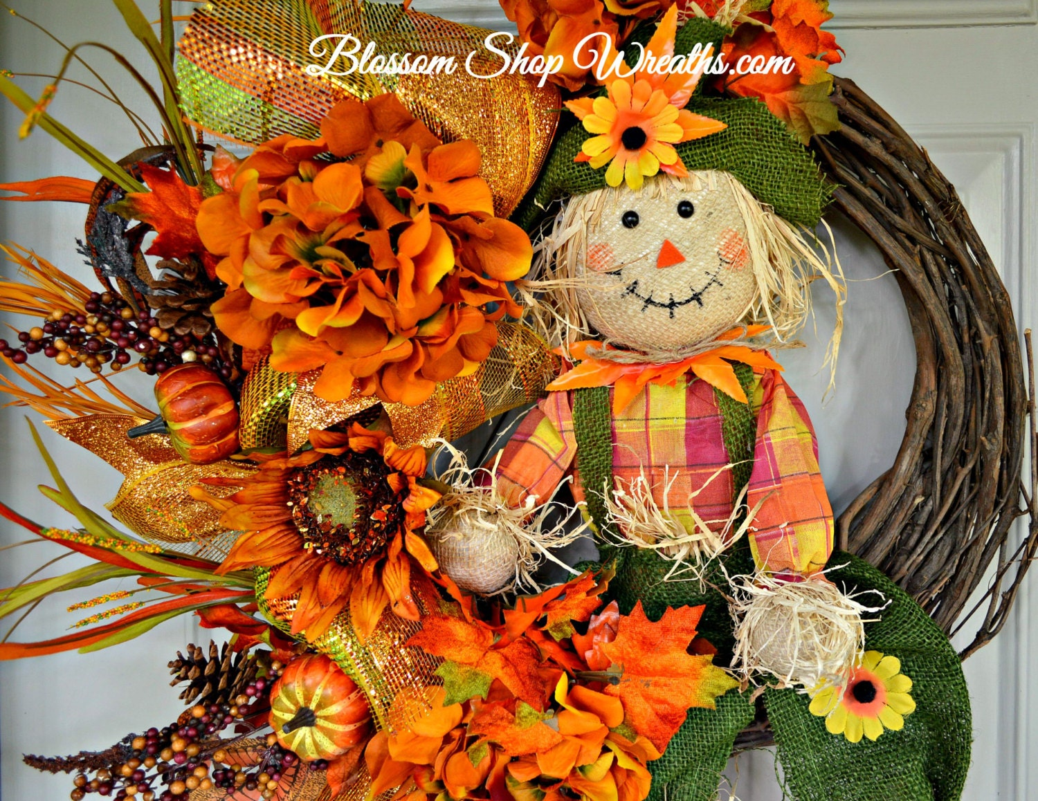 Wreath Sale Fall Wreath Grapevine Wreath By Blossomshopwreaths