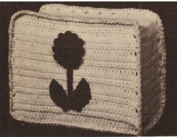 crochet toaster cover pattern vintage 70s crochet home decor. Black Bedroom Furniture Sets. Home Design Ideas