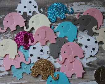 Elephant Balloon Confetti 50 Pieces