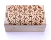 Custom Engraved Box, Your Design! Jewellery / Stash / Storage Box