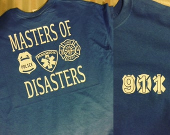 Masters of Disaster, Police, EMS, Fire.