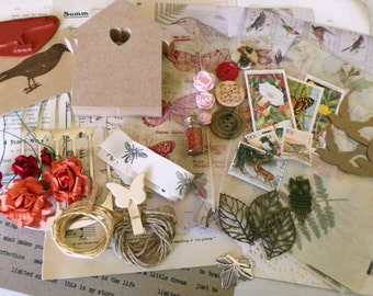 Mixed Media Kit - Birds of a Feather