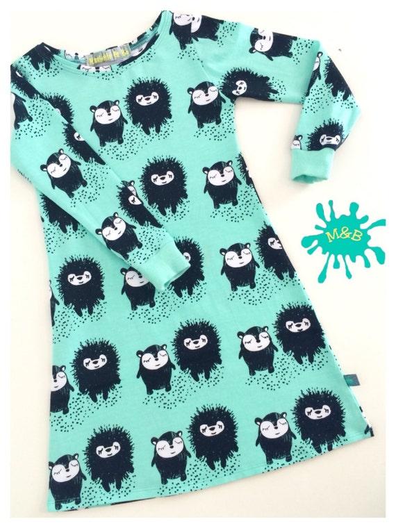 Hedgehog Jersey Dress