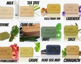Holy Land Natural Olive Oil Soap