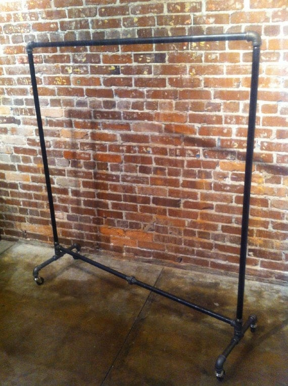 Industrial Rolling Dress Rack 70 Tall 48 By
