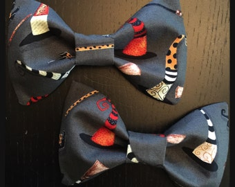Kitschy Witch Halloween Hair Bow