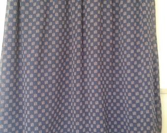 Elastic Waist Lined Chiffon material Skirt S/M