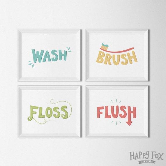 Massif image throughout wash brush floss flush free printable