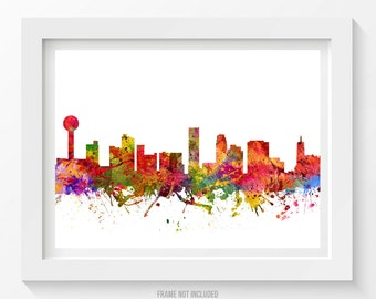 Knoxville Tennessee Skyline Poster Knoxville Cityscape Knoxville Art Knoxville Decor Home Decor