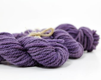 Rambouillet | Logwood | Naturally Dyed Baby Hanks