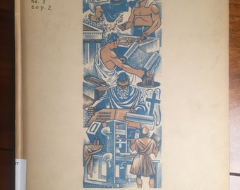 The Colophon Volume 1 Number Three by Frederick B. Adams, Jr. - Elmer Adler - Alfred Standford - John T. Winterich 1939