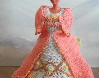 Crochet Fashion Doll Barbie  Pattern- #434 MAGIC MOMENTS