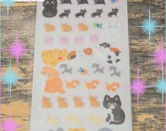 Kawaii Kitty Cat Stickers