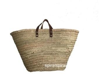 Sac De Paille : sac de paille shopping paniers panier marocain sac par spiralspiral ~ Nature-et-papiers.com Idées de Décoration