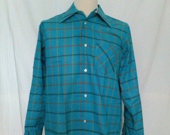 Vintage The Bay - Hudson's Bay Company - Loop Collar Shirt - Medium