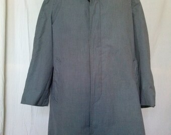 Vintage English Squire Raincoat - Size 44