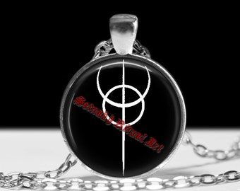 Clavicula Nox pendant, ritual necklace, magic talisman, occult jewelry, occult pendant, dragon rouge, ceremonial magick, amulet lamen 176