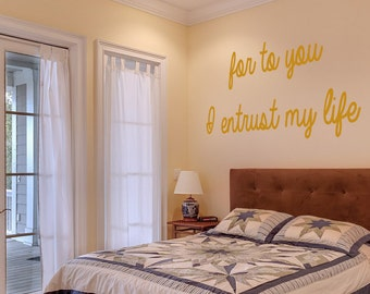 Love Quote Stencil - Wall Art Stencil Reusable Mylar, wall art, small to large stencils up to 19.5 x 27.5 inches.