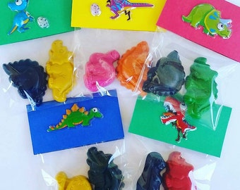 Dinosaur, Crayons, Dinosaur Birthday, Favor Bags, Party Favors, Jurassic, Dinosaur Party, Dinosaur Party Favor, Dino, Kids Party Favors, Boy