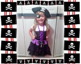Pirate Girl Tutu Dress Costume