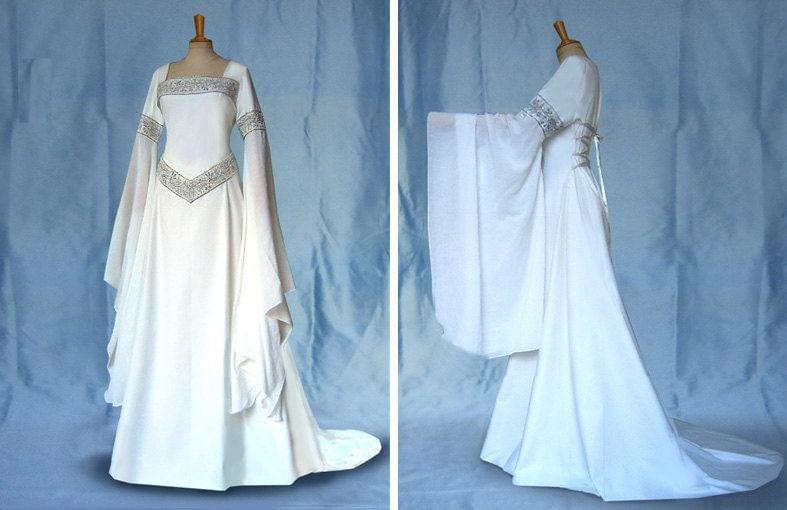 Brautkleid Elfenkleid Mittelalter DARIA