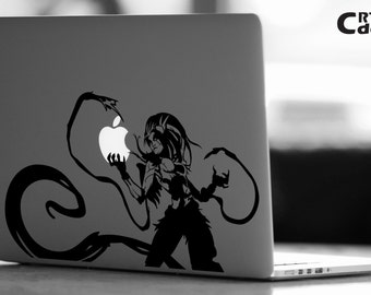 Zyra League of Legends Vinyl Decal - LOL Decal - Laptop Decal - Vinyl Ipad Decal - Computer Decal - Computer Sticker -  Kalista Sticker