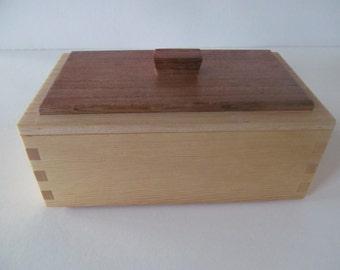 Little Pine Memory Box, Keepsake Box, Jewelry Box