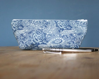 The Paisley Pencil Case/ Make Up Bag