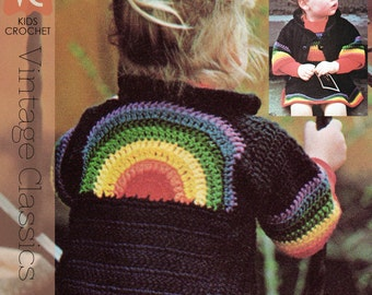 Over the Rainbow Pinafore and Cardi