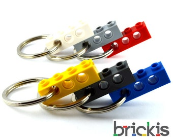 Set of 6 LEGO® Technic keychains party favors birthday parties child gift